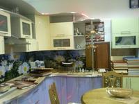 Кухня с фасадами из крашенного МДФ