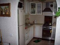 Кухня из массива (беленый дуб) (Октябрьская, д.28)