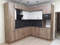 кухня с новыми современными фасадами ТИМБЕР и СИНХРОН (Зеленоград, ЖК Мелодия леса, д.8)