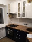 Кухня из ПОСТФОРМИНГА цвет Черничный + Белый античный (ул.Народного ополчения,1г)