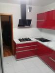 кухня АКРИЛЛ цвет гранат (ул.Пушечная)