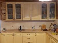 кухня из массива ясеня без патины (д.Лужки)