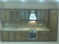 Кухня МДФ-ПВХ с патиной (Дракино)