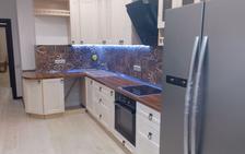 Кухня из массива сосны (ул.Стадионная,д.1,корп.3)