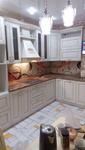 Кухня МДФ-ПВХ с патиной золото (ул.Центральная, д.142)