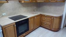 кухня черешня (массив ольхи)