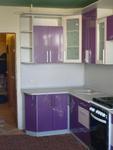 Кухня из МДФ-ПВХ люкс металлик (г.Таруса,ул.Ленина,д.43а)