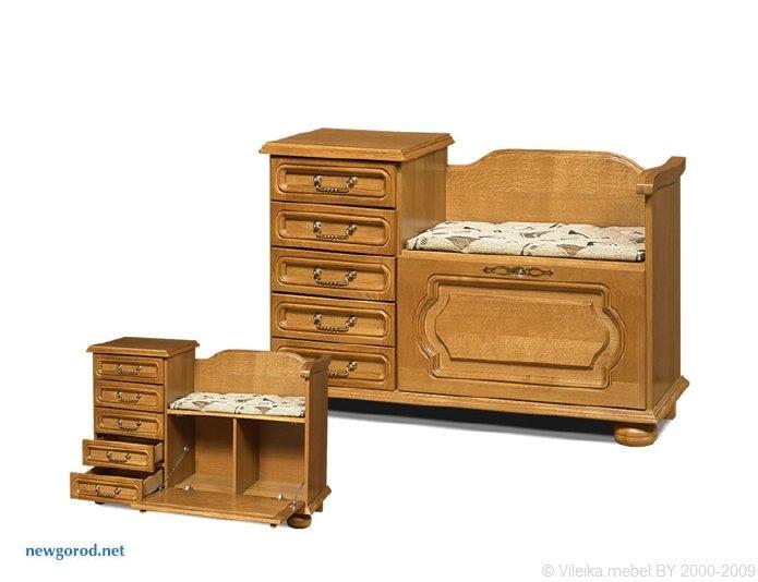 схема мебели жля прихожых